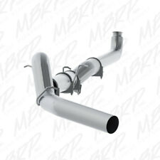 "MBRP 5"" Aluminized Single Downpipe Back Exhaust System - No Muffler - PLM Series"