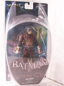 DC Direct Batman Arkham City Series 4 Deadshot figure MOC