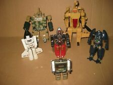 TRANSFORMERS/. GOBOTS LOT a