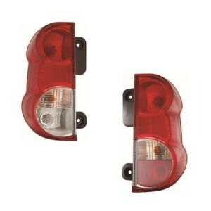For Nissan NV200 Van 09-On Rear Back Tail Lights Lamps 1 Pair Right OS Left NS