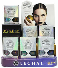 LECHAT PERFECT MATCH METALLUX COLLECTION CHROME GEL + LAC SET OF 6 - METALLIC EF