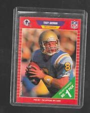 1989 Pro Set - TROY AIKMAN - Rookie Card #490 - DALLAS COWBOYS