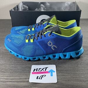 NEW On Cloud X Water Blue Men's Running Shoes sizes 7.5-9 NO BOX LID