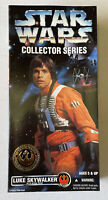"NEW Star Wars Collector Series Luke Skywalker in X-Wing Gear 12"" Figure Kenner"