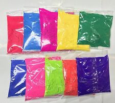 10 x 70g  Holi Powder Colour Run Festival Powder Packs Herbal Holi Powder