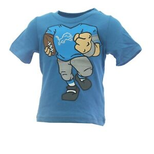 Detroit Lions Official NFL Apparel Infant Baby Toddler Size T-Shirt New Tags