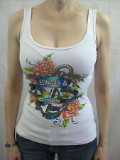 Wheels & Dollbaby Size 1 or 8 White Casual Singlet Top