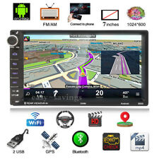 Android 8.1 2Din Car Stereo Radio Player GPS Navigation Touch Screen Wifi Camera