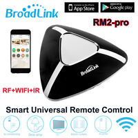 NEW Original Broadlink RM Pro+ Home Remote Control WIFI+IR+RF Switch Via IOS