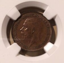 1931 GREAT BRITAIN 1/4 PENNY NGC MS 62 BN - FARTHING - 10 IN HIGHER GRADES