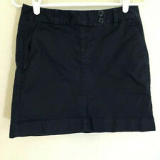 Vineyard Vines womens skirt size 2 navy blue cotton blend