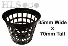 100 x hydroponic plant pot 8.5cm mesh aeroponic pot - HLS Products