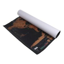 Travel Edition World Map Deluxe Scratch Map Personalized Poster Traveler Gifts