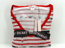 Victoria's Secret The Thermal PJ Set Red Fair Isle Print Size Medium