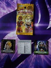 Booster Dragon Ball Z Seal Retsuden Magnet 16 et sp06 cartes cards DBZ rare