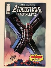 Bloodstrike Brutalists #24 Liefeld Pouch variant Image Comic 1st Print 2018 NM