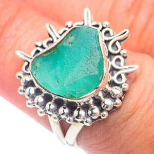Chrysoprase 925 Sterling Silver Ring Size 6.75 Ana Co Jewelry R71729F