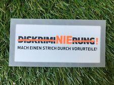Diskriminierung Patch Bundesliga 2014/2015 für Trikot Dortmund Bayern S04 etc.