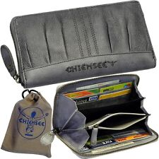 Chiemsee Porte-monnaie pour Femmes Vintage Cuir Portefeuille