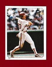 1984 O-Pee-Chee Baseball Sticker Philadelphia Phillies #117 Mike Schmidt