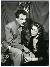 Lipnitzki, Paris, Théâtre Oeuvre, Raymond Rouleau et Marcelle Tassencourt  Vinta