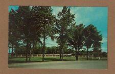 Newton Falls,OH Ohio, Scott's Motel map back w/Dutchman's Motel inked stamped