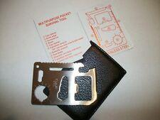 Credit Card 11 Function Multi-Tool, survival gear, emergency,