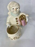 Lenox The Snowman Votive Candle Holder No Box