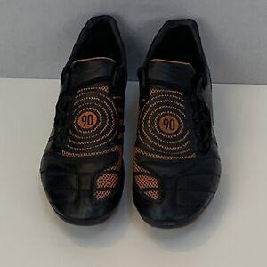 Nike Total 90 Football Boots Shoot II Extra FG Cleats Orange Black UK 11 EUR 46