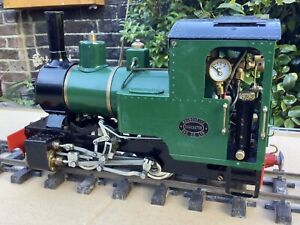 Roundhouse live steam Locomotive - Billy