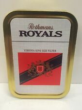 Rothmans Royals Retro Advertising Brand Cigarette Tobacco Storage 2oz Tin
