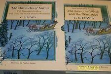 """The Chronicles of Narnia"" by C.S.Lewis,2 volumes,2005, Pauline Baynes 1st thus"