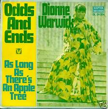 "DIONNE WARWICK ODDS AND ENDS 7""SINGLE S3049"