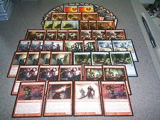MTG Magic VAMPIRE DECK Innistrad M12 Rakish Heir MONO RED WINS Rare Lot Counters