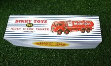DINKY Reproduction Box 941 Foden 14-Ton Tanker 'Mobilgas'