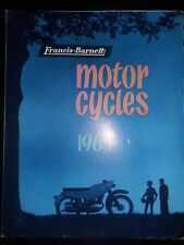 Prospekt Sales Brochure Francis Barnett motor cycles 1963 Technische Daten