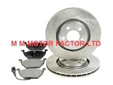 VW POLO 9NF 93F (05-09) 1.4 FSi TDi DIESEL FRONT VENTED BRAKE DISCS AND PAD SET