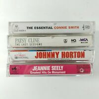 Cassette Tapes Classic Country Music Smith Seely Horton Cline