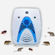 NEW Plug-In Electronic Ultrasonic Wave Mosquito Repellent Roach Pest Repeller