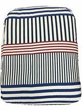 Frank and LuLu Americana Red White & Blue Stripe Twin Comforter & Sham Set