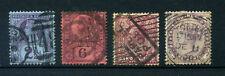 Britische Kolonien 4 Briefmarken - gestempelt - Großbritannien - England