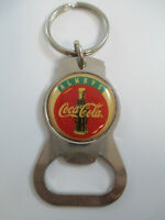 Coca-Cola Metal Always Coca-Cola Keychain Bottle Opener Vintage 1990s NOS