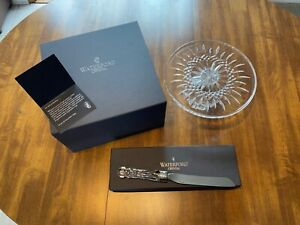Waterford Crystal Bridal Cake and Knife Set