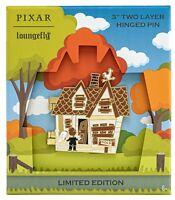 Pixar Up House Carl Ellie Box Hinged Loungefly LE 2500 Disney Enamel Pin