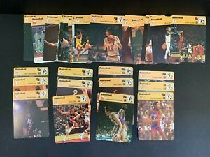 1977-79 Huge Large Collection Lot 50+ Sportscaster NBA Basketball Cards