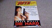 RITZ REVIEW VIDEO UK 1989 BRUCE WILLIS DIE HARD COREY HAIM DENZEL WASHINGTON