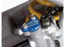 Works Connection BLUE Rear Brake Cap - Honda CRF250R/X & CRF450R/X _ 21-500