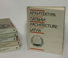 Latvia    USSR  Architecture Design book photo urban  modern Constructivism