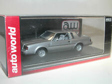 AW Auto World, 1986 Buick Regal T-Type, silber, 1/43 (AWR 1138/06) Resine-Modell