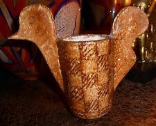 Vase zoomorphe terre chamottée Vallauris dlg Robert Perot